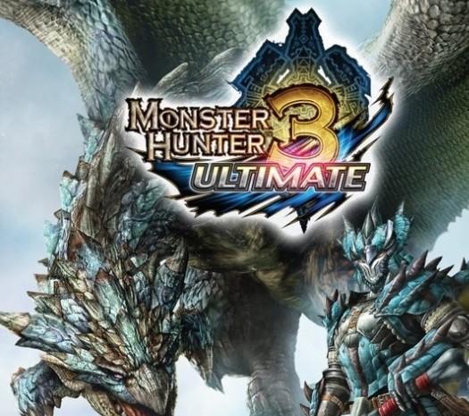 MH3U Wii U Boxart